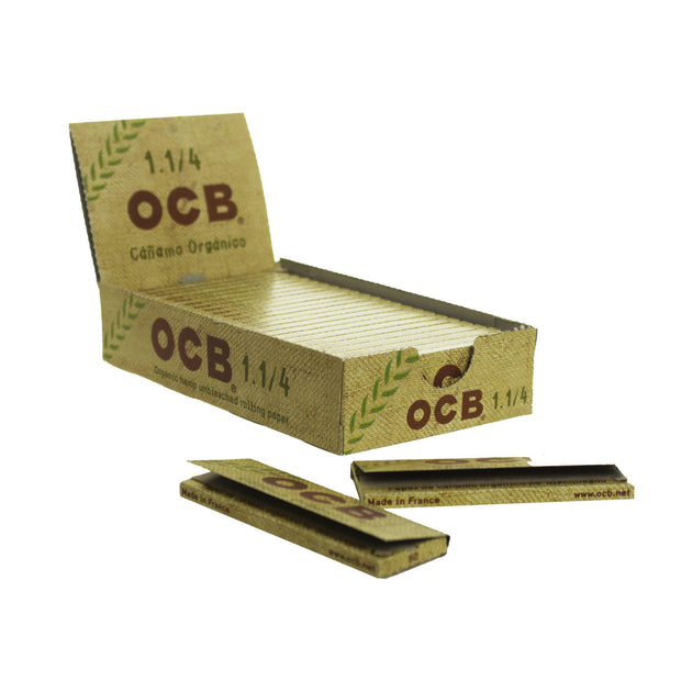Rolling Papers OCB Organic Single Wide Double Window 25 Pack