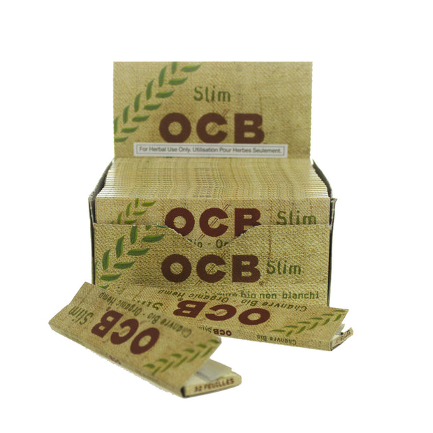 Rolling Papers OCB Organic Slin King Size 50 Pack