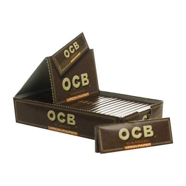 Rolling Papers OCB Unbleached 1 1/4 25 Pack