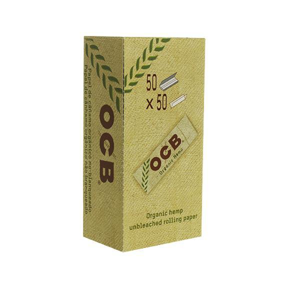 Rolling Papers OCB Organic Single Wide Single Window 50 Pack
