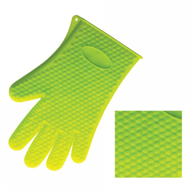 Silicone Glove Green