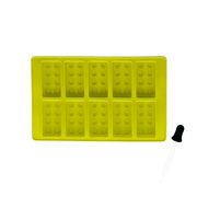 Silicone Ice Cube Tray with dropper - Lego
