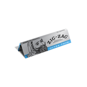 "Zig-Zag Ultra Thin Slow Burning Rolling Papers – 1 ¼"" Silver – 25 Pack"