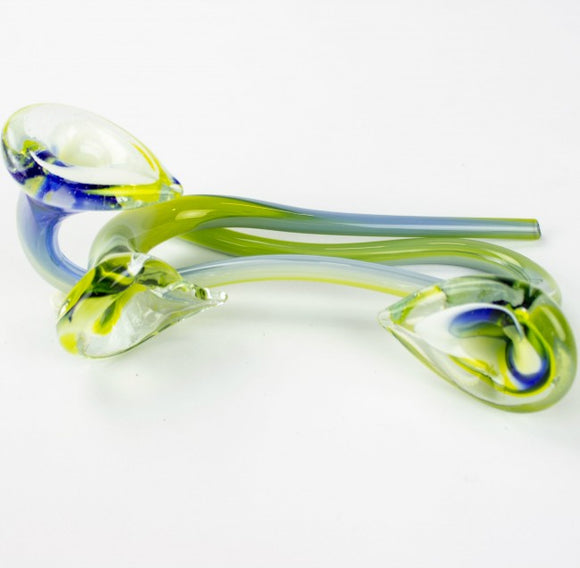 Pipe Glass Flower