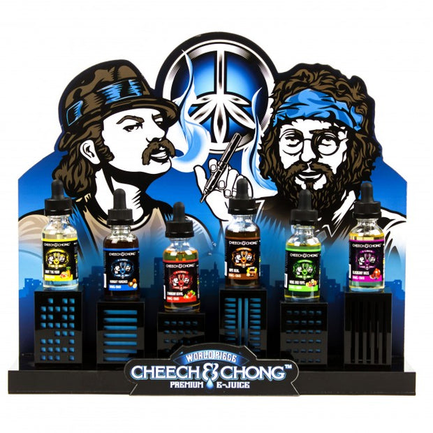 Acrylic Trays for Cheech & Chong E-Juice