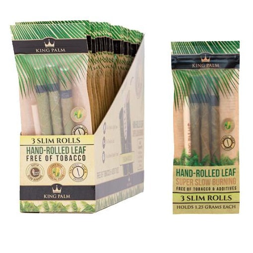 King Palm Pre-Roll Slim Pouch 1.25 gram 24/box
