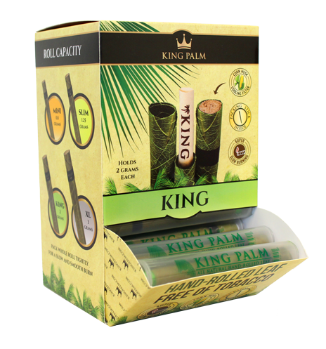 King Palm Pre-Roll King Size Dispenser 50/Box