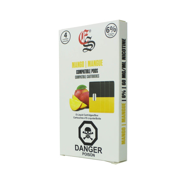 Eonsmoke cartridges Mango 4 pk