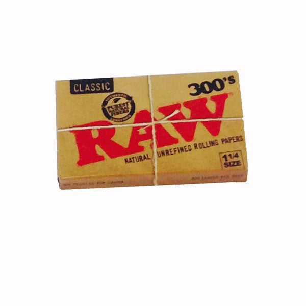 Rolling Papers Raw Natural 300/ Book 40/Box