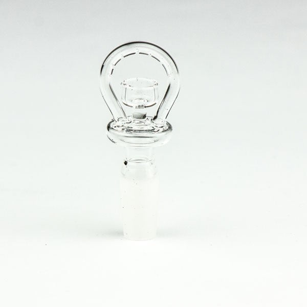 Halo domeless quartz nail with 14mm male joint
