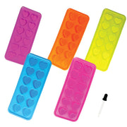 Silicone Ice Cube Tray with dropper - Heart