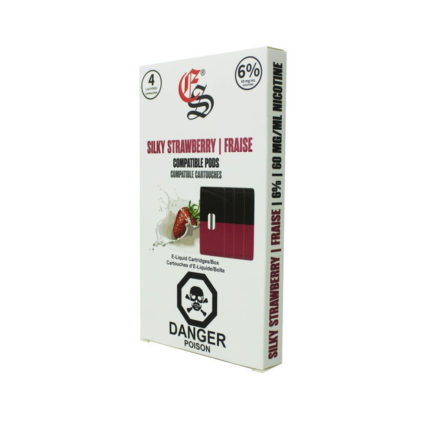 Eonsmoke cartridges Silky strawberry 4pk
