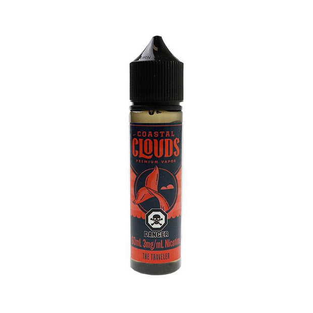The Traveler E-Liquid – Coastal Clouds 60ml