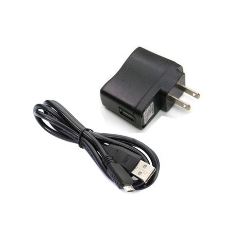 WALL CHARGER 5V/1A 1000MAH WITH MICRO-B USB
