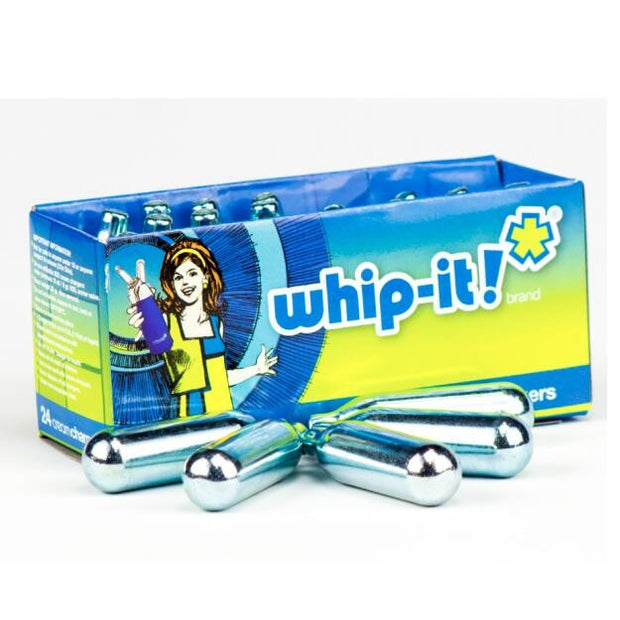 CREAM CHARGERS WHIP-IT BOX OF 24