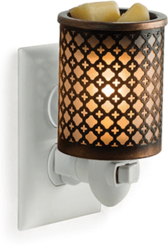 Pluggable Metal Wax Fragrance Warmer
