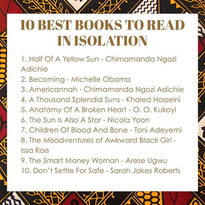 10 Best Books To Read In Isolation