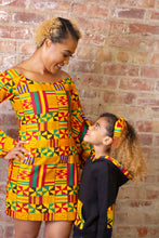 Load image into Gallery viewer, Aryee Kente Unisex Kids Hoodie