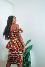 Load image into Gallery viewer, Wunmi African Print Corset Top