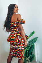 Load image into Gallery viewer, Wunmi African Print Corset Top and Pencil Skirt Co-ord Set