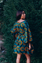 Load image into Gallery viewer, Adetayo African Print Belted Kaftan Dress