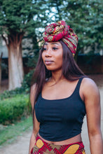 Load image into Gallery viewer, Nala Pre-tied African Print Turban Head Wrap