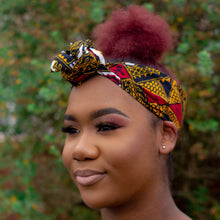Load image into Gallery viewer, Teju African Print Ankara Head Wrap