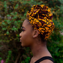Load image into Gallery viewer, Ada African Print Ankara Head Wrap