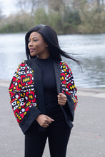 Load image into Gallery viewer, Wunmi African Print Open Jacket