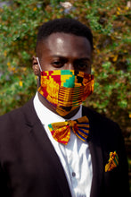 Load image into Gallery viewer, Aryee Kente African Print Reusable Face Mask