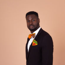 Load image into Gallery viewer, Aryee Kente African Print Bow Tie