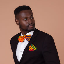 Load image into Gallery viewer, Aryee Kente African Print Pocket Square