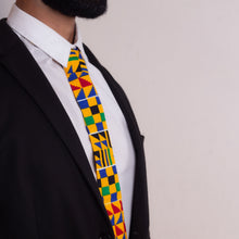 Load image into Gallery viewer, Kente African Print Tie