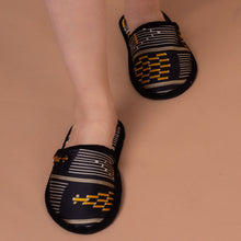 Load image into Gallery viewer, Kente Silk Slippers