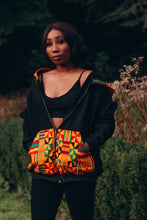 Load image into Gallery viewer, Aryee Kente Unisex African Print Hoodie