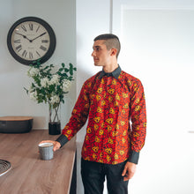 Load image into Gallery viewer, Ana African Print Long Sleeved Shirt