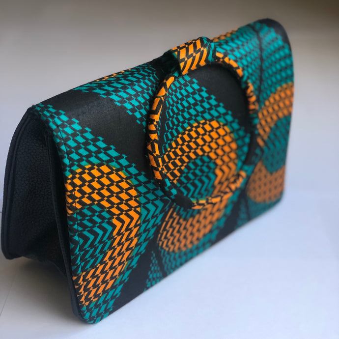 Adetayo Velvet Lined Ring Bag