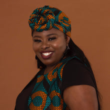 Load image into Gallery viewer, Adetayo African Print Ankara Head Wrap