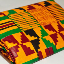 Load image into Gallery viewer, Aryee Kente African Print Ankara Fabric