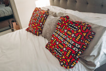 Load image into Gallery viewer, Wunmi African Print Ankara Covered Cushions