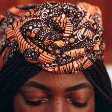 Load image into Gallery viewer, Adedayo African Print Head Wrap