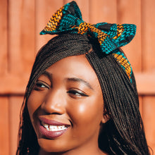 Load image into Gallery viewer, Adetayo African Print Ankara Bow Headband