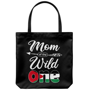 RobustCreative-Jordanian Mom of the Wild One Birthday Jordan Flag Tote Bag Gift Idea