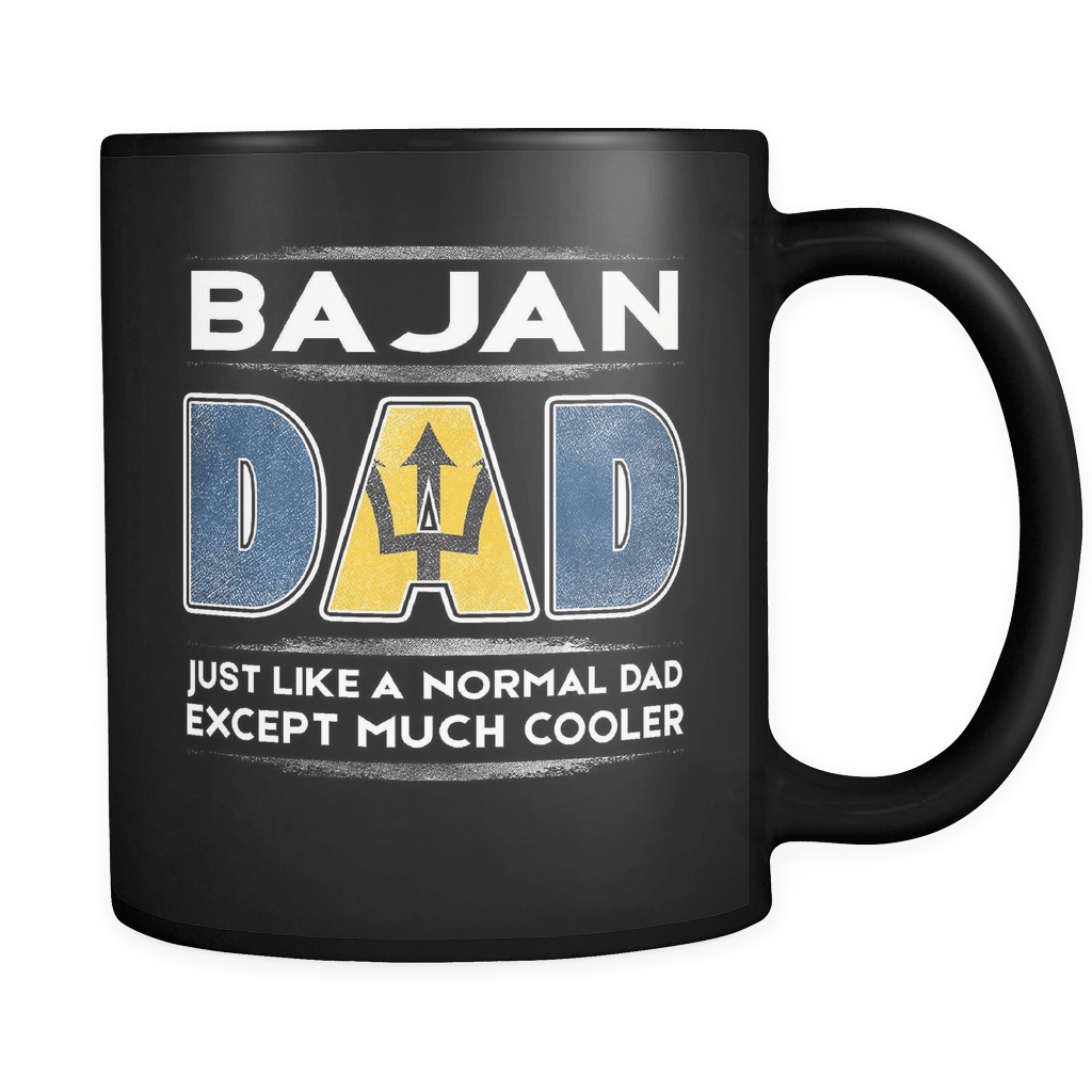 Barbados Dad Like Normal But Cooler Fathers Day Gifts Family Gift Robustcreative