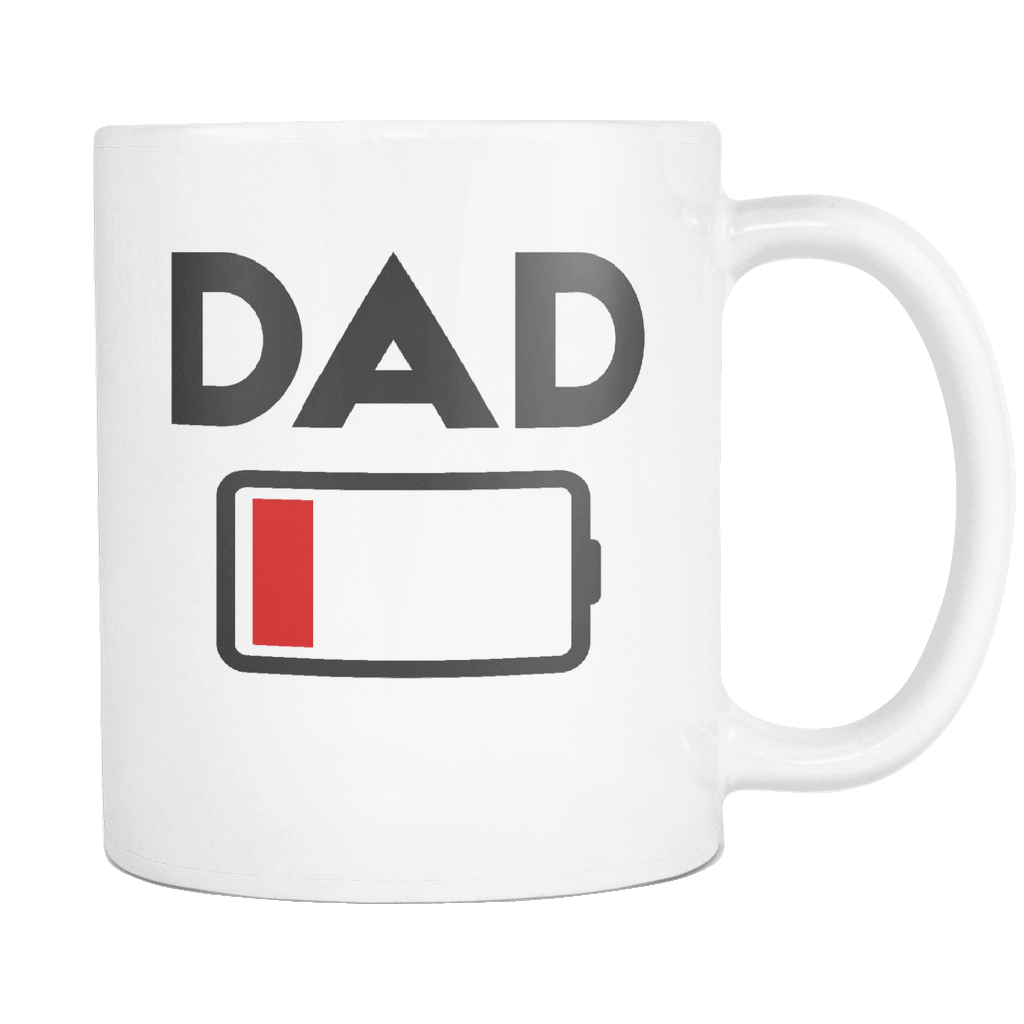 Battery Low Dad Fathers Day Gifts Family Gift Gift From Kids 11o Robustcreative