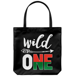 RobustCreative-Madagascar Wild One Birthday Outfit 1 Malagasy Flag Tote Bag Gift Idea