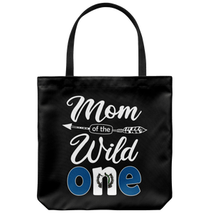 RobustCreative-Guatemalan Mom of the Wild One Birthday Guatemala Flag Tote Bag Gift Idea