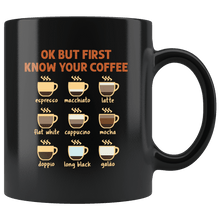 Load image into Gallery viewer, RobustCreative-Ok But First Coffee Funny Coworker Saying Gift Idea - 11oz Black Mug barista coffee maker Gift Idea