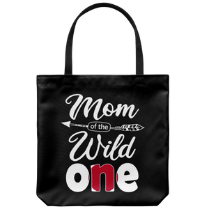 RobustCreative-Japanese Mom of the Wild One Birthday Japan Flag Tote Bag Gift Idea
