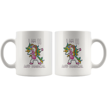 Load image into Gallery viewer, RobustCreative-I am 11 & Magical Unicorn birthday eleven Years Old ph1 White 11oz Mug Gift Idea